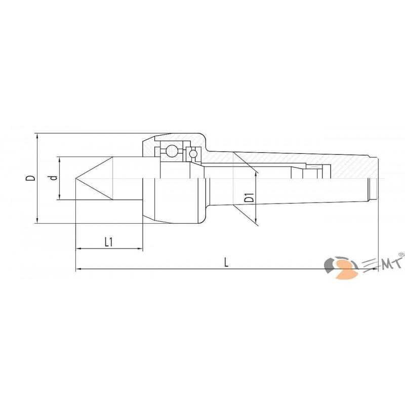 Dispozitiv de centrare - NCK-B MK 5
