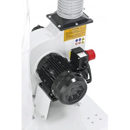 Motor de actionare de mare putere cu rotor ventilator din otel.