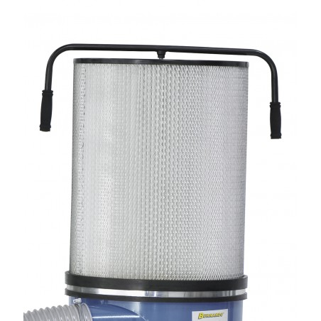 Crestere efectiva a capacitatii de aspiratie datorita cartusului de filtrare FP 2 sau FP 3 (optionale)