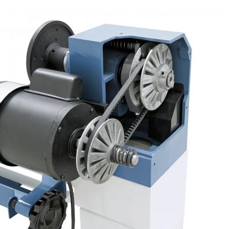 Actionarea masiva cu variator asigura o transmisie optima a fortei.