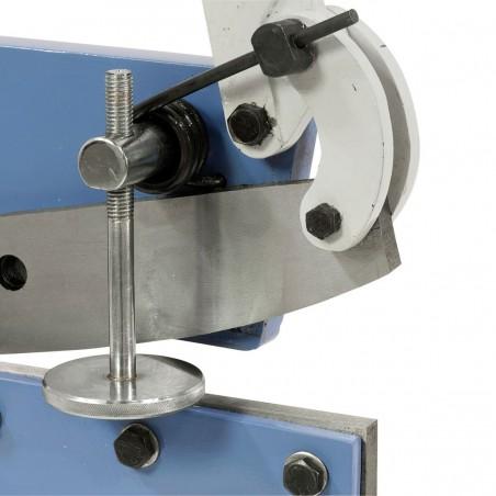 Este ideala pentru debitarea profilelor circulare cu diametrul de maxim 11 mm