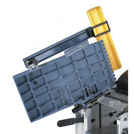Mesele din aluminiu pentru taiere sunt dotate cu fante pentru a reduce nivelul de zgomot.