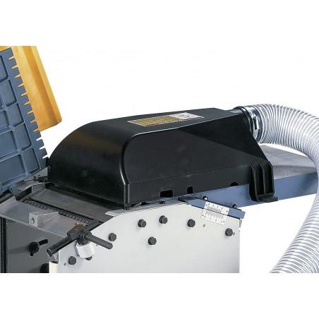 Hota exhaustare (Ø 80 mm) utilizabila atat pentru rindeluire cat si pentru degrosare