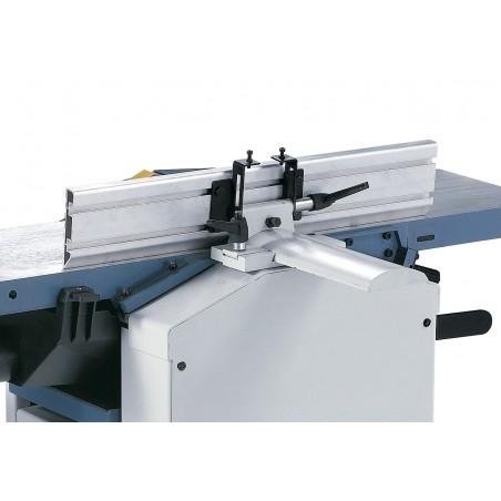 Limitator din aluminiu cu ghidaj prismatic, inclinabil de la 90° la 45°