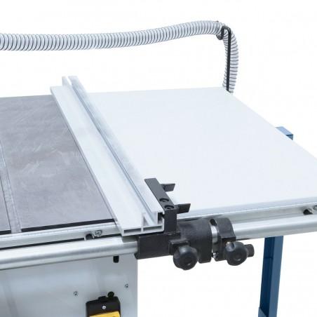 Ghidare precisa a opritorului paralel din aluminiu prin intermediul barei rotunde de 30 mm.