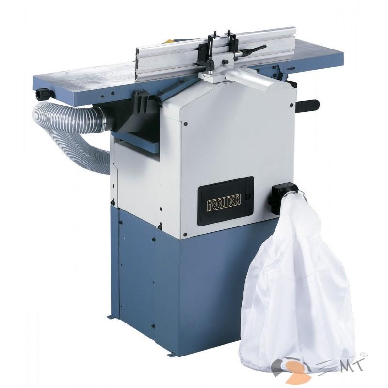 In fabricatie de serie echipat cu dispozitiv de aspirare si sac de filtrare integrat.