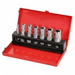Set carotiere HSS, 14 - 24 mm